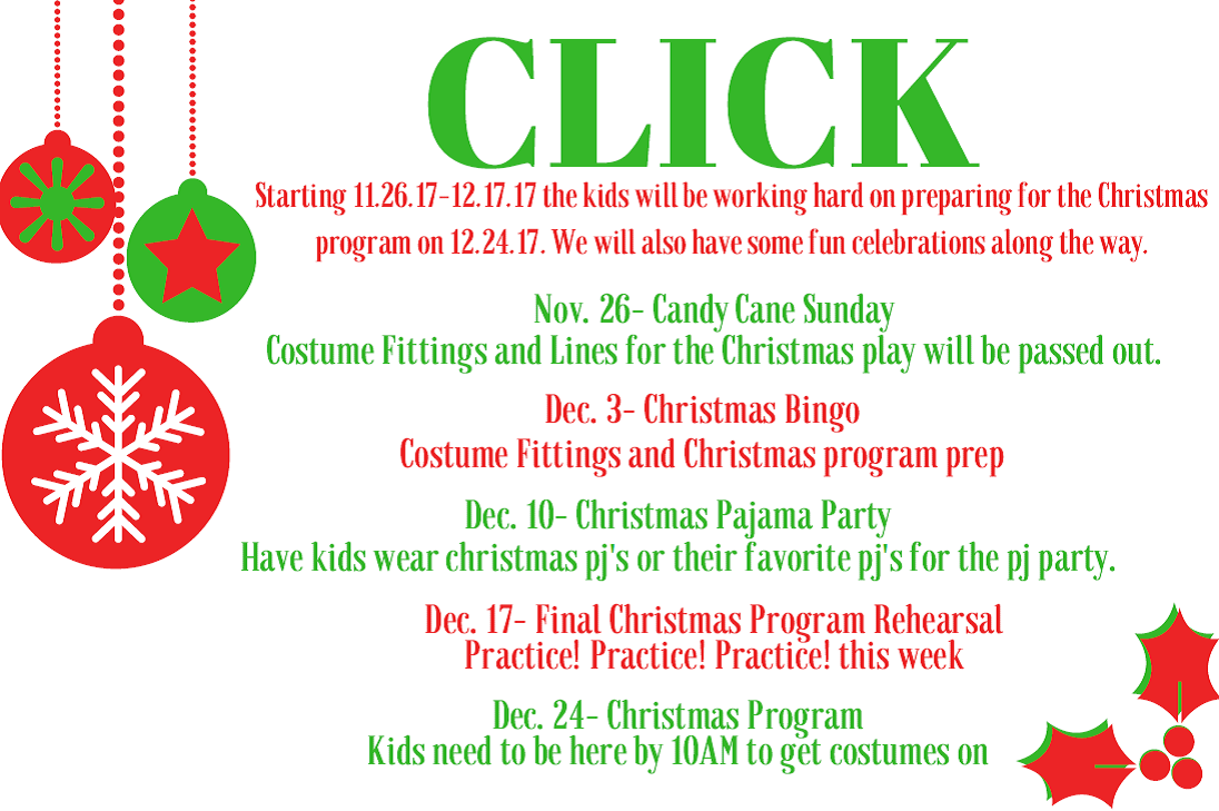 CLICK Christmas – Corydon New Hope Wesleyan